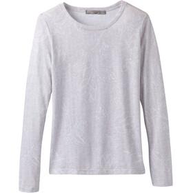 Prana Francie Langærmet T-shirt Damer grå